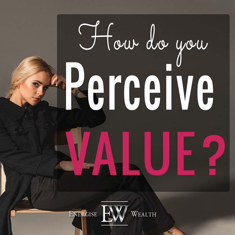 perception of value